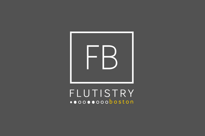 Flutistry Boston Logo
